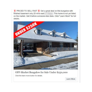 Real Estate Buyer Facebook Ads