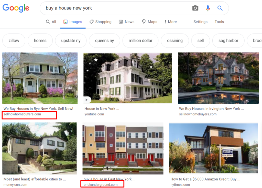 google image search results for buy a house new york