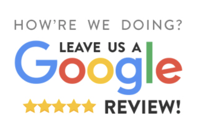 leave us a google review image